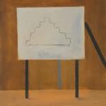 The Architect. Oil on Canvas. 46 x 36 cm 1986