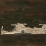 Braques Mersey 1942. Oil on Canvas. 20 x 25 cm. 1998