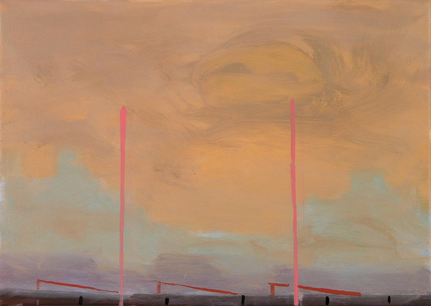Contour c. Oil on Canvas. 2003 25 x 36 cm