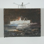 Boat. Oil on Canvas.